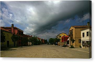 Canvas Print featuring the photograph Change In The Weather by Anne Kotan
