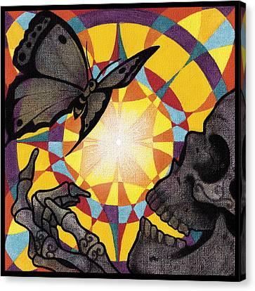 Change Mandala Canvas Print by Deadcharming Art
