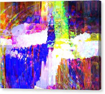 Experience Canvas Print - Changing Color by Fania Simon