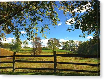 Changing Seasons Canvas Print by Bill Cannon