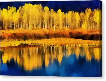 La Jolla Art Canvas Print - Changing Seasons by Russ Harris