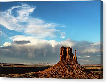Changing Sky  Canvas Print