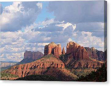 Changling Light - Cathedral Rock Canvas Print by Patricia Davidson