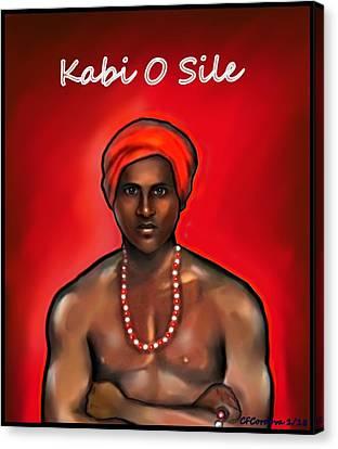 Chango - Kali O Sile Canvas Print