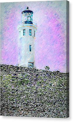 Channel Islands Lighthouse Canvas Print