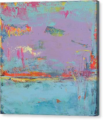 Chant D'oiseaux 1 Canvas Print by Francine Ethier