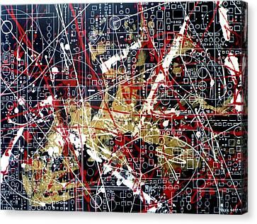 Chaos Theory Canvas Print by Tara Baden