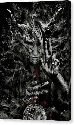 Chaosbringer Canvas Print by Cambion Art