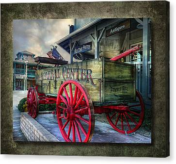 Chaparral Wagon Canvas Print by Hanny Heim