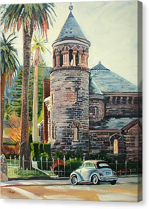 Chapel Bug Canvas Print by Colleen Proppe