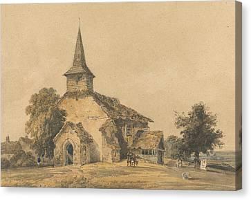 Chapel Church, Surrey Canvas Print