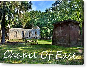 Chapel Of Ease Canvas Print by Lisa Wooten