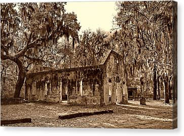 Chapel Of Ease Sc Canvas Print by Skip Willits