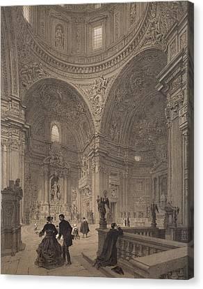 Chapel Of St Ignatius Of Loyola Canvas Print by Felix Benoist