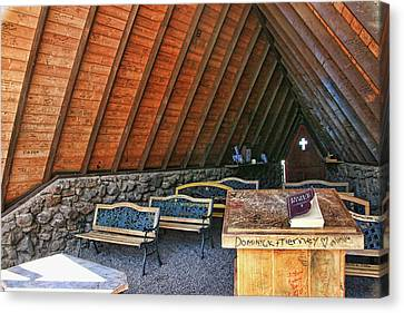 Chapel Of The Holy Dove - Flagstaff, A Z # 2 Canvas Print by Allen Beatty