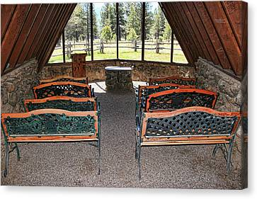 Chapel Of The Holy Dove - Flagstaff, A Z # 3 Canvas Print by Allen Beatty