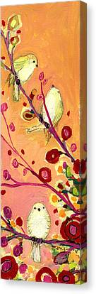 Chaperoning Canvas Print by Jennifer Lommers