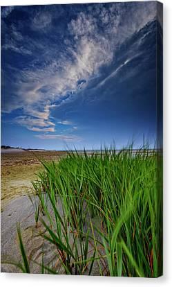 Sandy Beach Canvas Print - Chapin Beach by Rick Berk