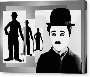 Chaplin, Charlie Chaplin Canvas Print