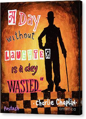 Chaplin Canvas Print by Igor Postash