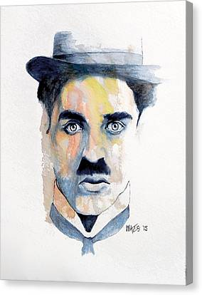 Chaplin Canvas Print by William Walts