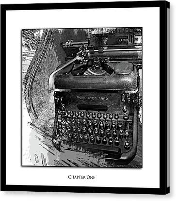 Chapter One Canvas Print by Monroe Snook