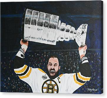 Chara And The Cup Canvas Print by Betty-Anne McDonald