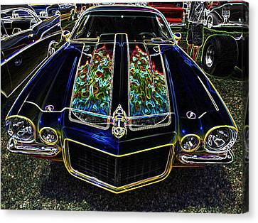 Charged Up Camaro Canvas Print