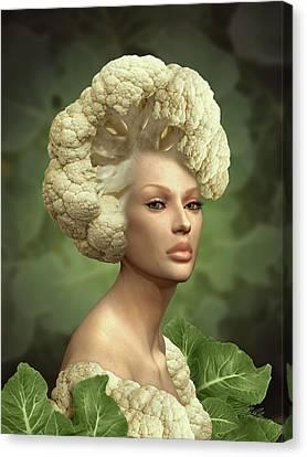 Charismatic Cauliflower Canvas Print