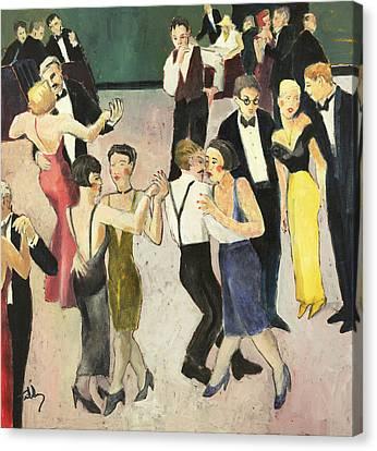Charity Ball Canvas Print