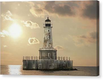 Charity Shoal Lighthouse Canvas Print