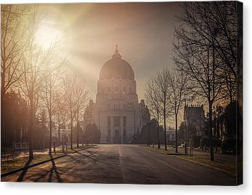 Charles Borromeo Church Zentralfriedhof Vienna Canvas Print by Carol Japp