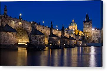 Charles Bridge Canvas Print by Blaz Gvajc