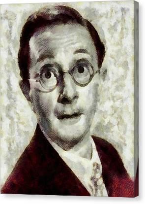 Charles Hawtrey, Carry On Actor Canvas Print