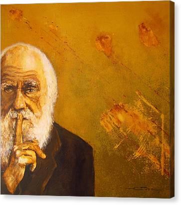 Charles R. Darwin Canvas Print by Eric Dee