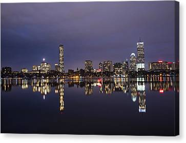 Charles River Clear Water Reflection Canvas Print by Toby McGuire