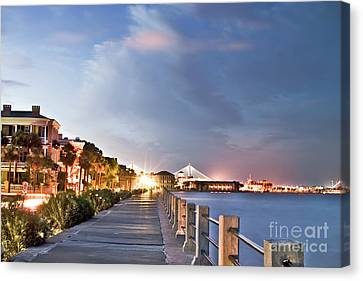 South Carolina Canvas Print - Charleston Battery Photography by Dustin K Ryan