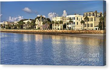 Charleston Battery Row South Carolina  Canvas Print