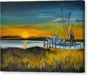 Charleston Low Country Canvas Print