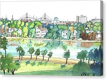 Charleston One Canvas Print
