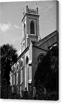 Charleston Unitarian Church Canvas Print by Dustin K Ryan