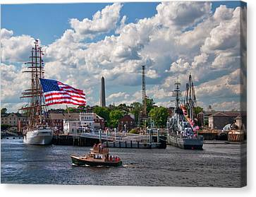 Charlestown Navy Yard - Boston Canvas Print