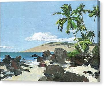 Charley Young Beach Morning Canvas Print