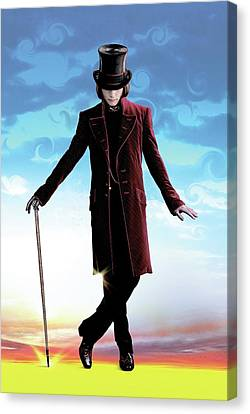 Character Portraits Canvas Print - Charlie And The Chocolate Factory 2005 by Unknow