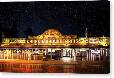 Charlie Brown Farms Canvas Print by Mark Andrew Thomas