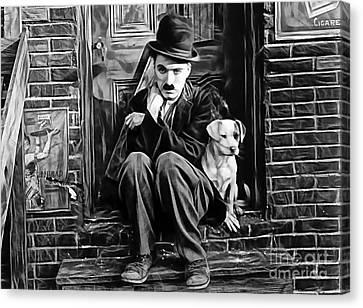 Charlie Chaplin Collection Canvas Print