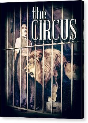 Charlie Chaplin - The Circus Canvas Print