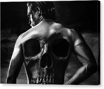 Charlie Hunnam Canvas Print