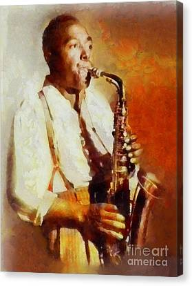 Charlie Parker, Music Legend Canvas Print