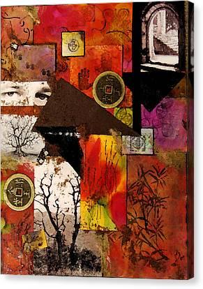 Charlie Canvas Print by Patricia Motley